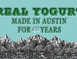 #1 for Text & Design to Add to Billboard picture content for Yogurt by masroorahmedkhan