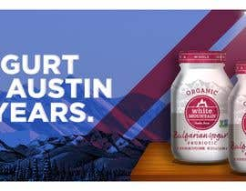 #14 for Text & Design to Add to Billboard picture content for Yogurt by mertgenco