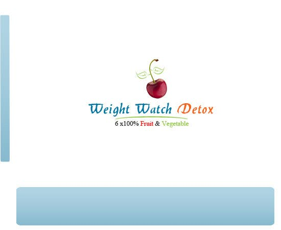#65 for Logo Design for Weight Watch Detox . com by Aakashbansal32