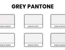 #18 cho find me a light baby grey pantone bởi Zainali63601