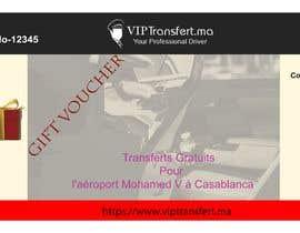 nº 5 pour Gift Voucher VTC pour Viptransfert par azam1961