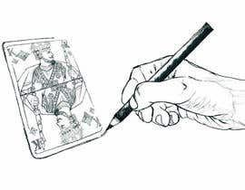 "#7 for Illustration of  ""hand drawing a playing card"" by infinitygraphic"
