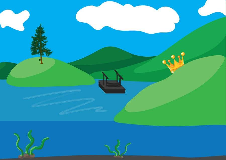 Participación en el concurso Nro.                                        71                                      para                                         Background for mystical lake serpent