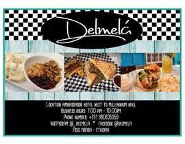 #3 untuk flyer for DELMELA CAFE oleh gavassin