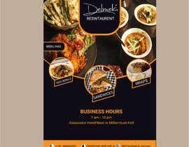 #69 untuk flyer for DELMELA CAFE oleh shamim395