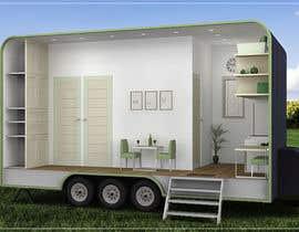 #49 for Design for a tiny mobile home af deeps831