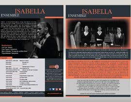 #12 for Advertising brochure for a medieval ensemble musician band by khaledalmanse