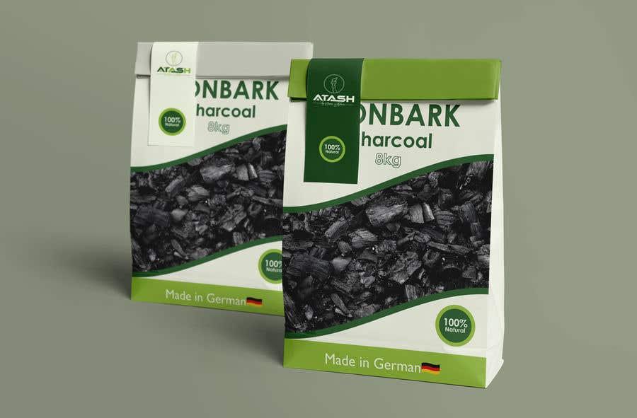 Inscrição nº                                         20                                      do Concurso para                                         Design artwork for charcoal package