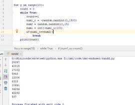 #5 for Need some change to python script for random number which does not match by tam2710