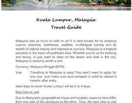 #18 for Need Travel guide article for Asian Countries by afrinaamni