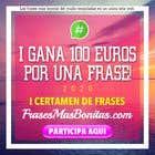 """Participación Nro. 7 de concurso de Website Design para Banner publicitario para certamen de frases """"FrasesMasBonitas.com"""""""