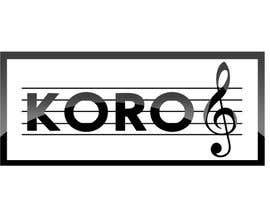#58 para Logo for an 8 member choir named KORO de hazemyaseen23