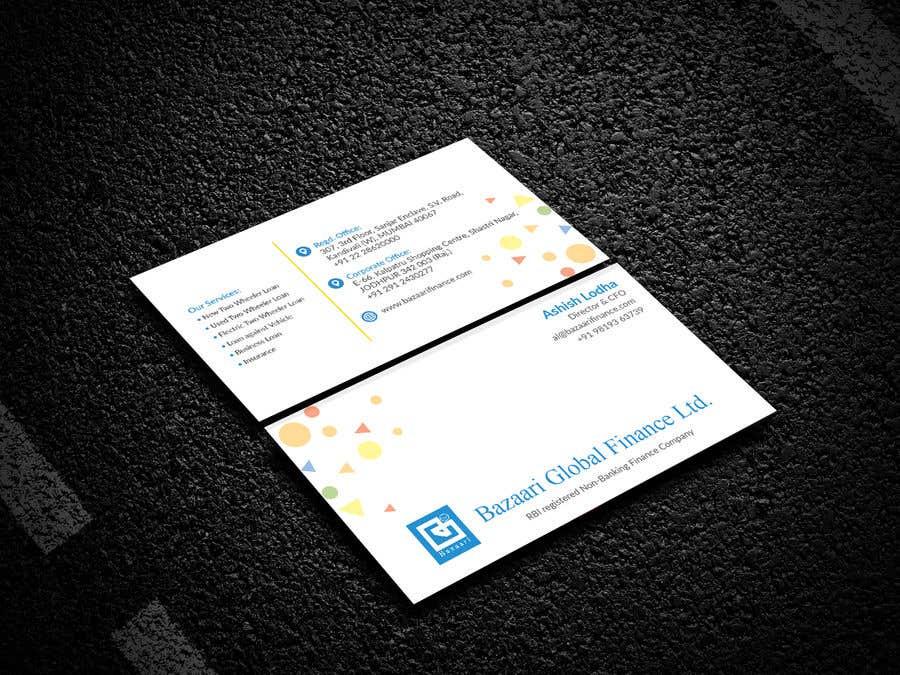 Participación en el concurso Nro.                                        80                                      para                                         Redesign of Business Card - Finance Company