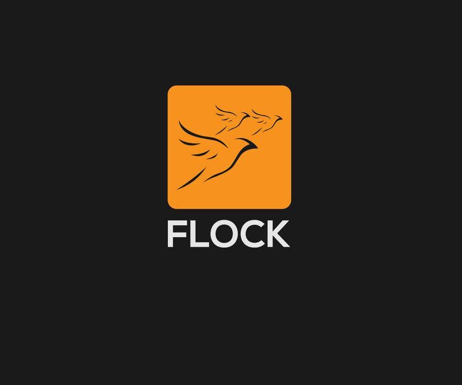 """Participación en el concurso Nro.                                        4                                      para                                         Logo for a travel app """"Flock"""""""