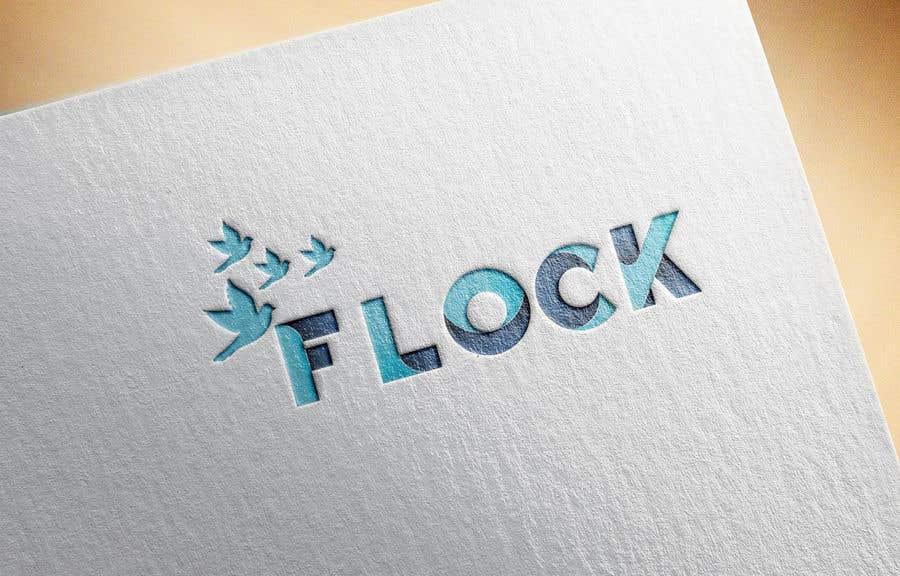 """Participación en el concurso Nro.                                        5                                      para                                         Logo for a travel app """"Flock"""""""