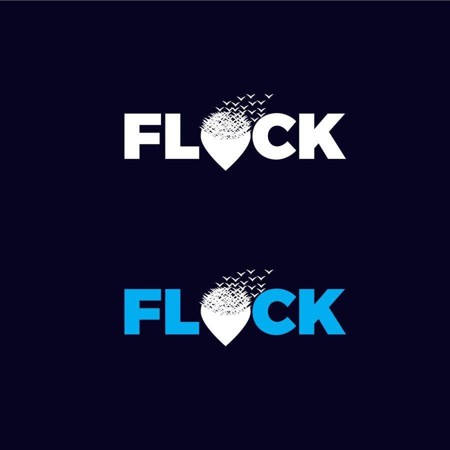 """Конкурсная заявка №                                        190                                      для                                         Logo for a travel app """"Flock"""""""