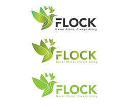"#137 para Logo for a travel app ""Flock"" de tanvirraihan05"