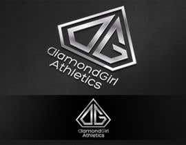 #37 para Logo Design for Diamond Girl Athletics por HammyHS