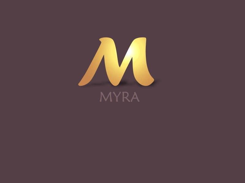 Bài tham dự cuộc thi #                                        3                                      cho                                         Logo Design for Myra