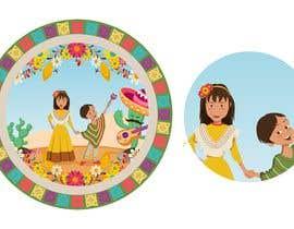 Nro 160 kilpailuun Mexican Fiesta Cartoon Illustration Vector käyttäjältä stefaniamar