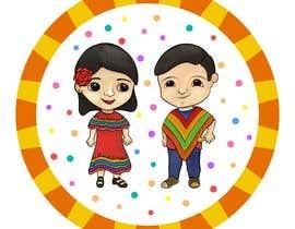 Nro 169 kilpailuun Mexican Fiesta Cartoon Illustration Vector käyttäjältä MJJTgrafika