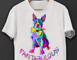 Awal01 tarafından To create an image / design for a T-shirt based on a real dog picture. için no 32