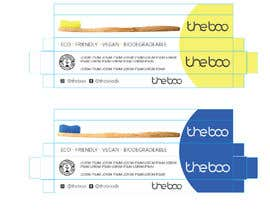 nº 18 pour Packaging for a bamboo toothbrush par eling88