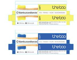 nº 19 pour Packaging for a bamboo toothbrush par eling88