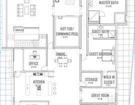#6 for Architect - Home Floor Plans af Fireprince14