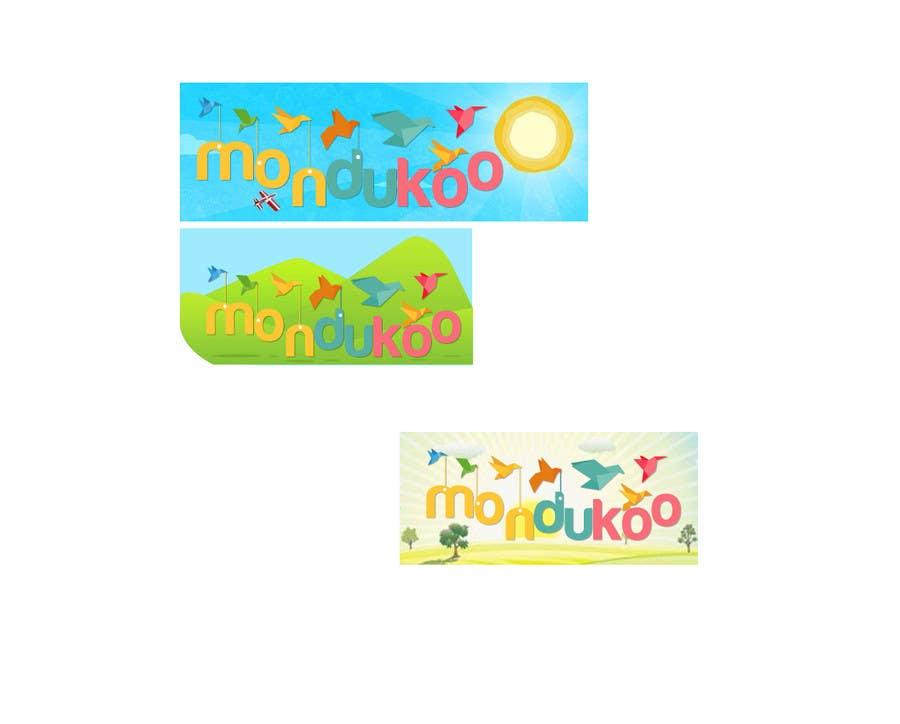 Bài tham dự cuộc thi #                                        7                                      cho                                         mondukoo, create a logotype for my personnal website and an icon