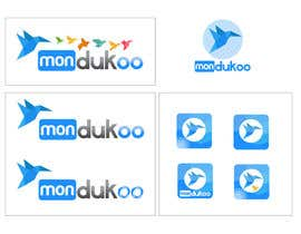 #14 para mondukoo, create a logotype for my personnal website and an icon por YogNel