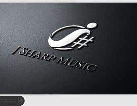 nº 58 pour Logo Design for J Sharp Music par Dewieq