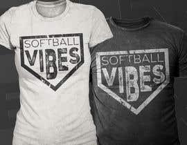 #46 для Baseball/Softball Vibes T-shirt Design от Exer1976