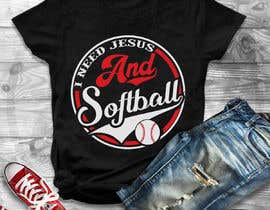 #20 for 2 T-Shirt Design: I need Jesus and Baseball/Softball by Gopal7777
