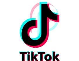 Nro 108 kilpailuun Need a creative vector art fron tiktok logo käyttäjältä raddinmollik