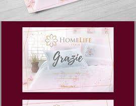 Nro 22 kilpailuun Create a visually stunning Thank you card for customers käyttäjältä satishandsurabhi