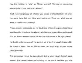 #5 para Article Series for Dating an African Woman por Faithzeal