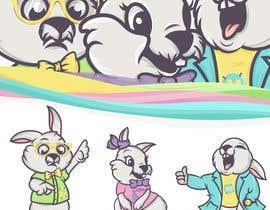 #11 untuk Draw three cartoon bunny characters in 2D as per the description provided oleh Hazemwaly1981