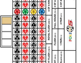 #11 for New Live Casino Table Game Layout Design Needed (EXPERIENCE WITH AMERICAN ROULETTE LAYOUT DESIGN PREFERRED) -- 2 by dimmed7