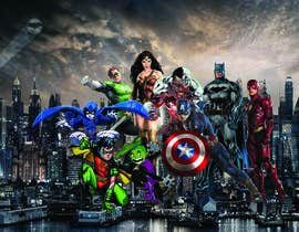 #89 cho Photoshop together a big poster for our office wall bởi Najjar74