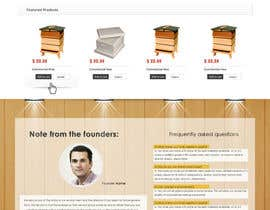 #9 untuk Website Design for newly designed beehive eCommerce site oleh SadunKodagoda