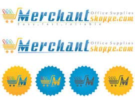 #34 for Logo Design for Merchantshoppe.com af pateljayendra78
