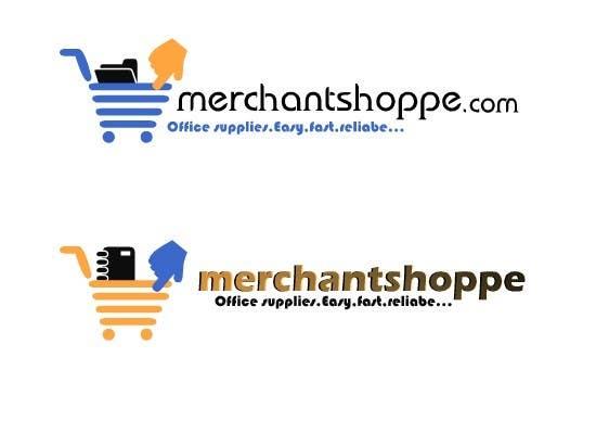 Inscrição nº                                         48                                      do Concurso para                                         Logo Design for Merchantshoppe.com