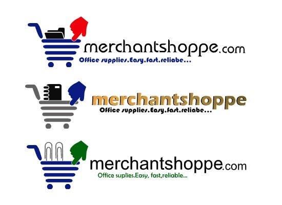 Inscrição nº                                         50                                      do Concurso para                                         Logo Design for Merchantshoppe.com