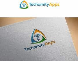 """Nro 35 kilpailuun Design Logo & Visiting card for my Software Company/startup """"TechamityApps"""" käyttäjältä alimon2016"""