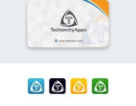 "#36 untuk Design Logo & Visiting card for my Software Company/startup ""TechamityApps"" oleh alimon2016"