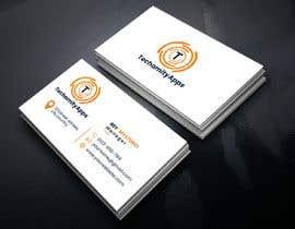 """Nro 23 kilpailuun Design Logo & Visiting card for my Software Company/startup """"TechamityApps"""" käyttäjältä RUMONQWERTY"""