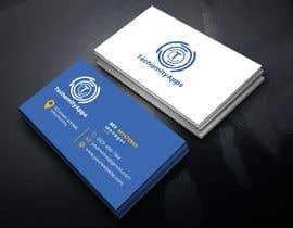 """Nro 24 kilpailuun Design Logo & Visiting card for my Software Company/startup """"TechamityApps"""" käyttäjältä RUMONQWERTY"""