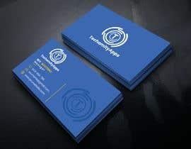 "#31 untuk Design Logo & Visiting card for my Software Company/startup ""TechamityApps"" oleh RUMONQWERTY"