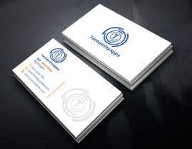 """Nro 33 kilpailuun Design Logo & Visiting card for my Software Company/startup """"TechamityApps"""" käyttäjältä RUMONQWERTY"""